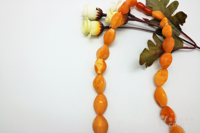 天然 蜜蜡项链v1图3