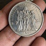 10法郎银币