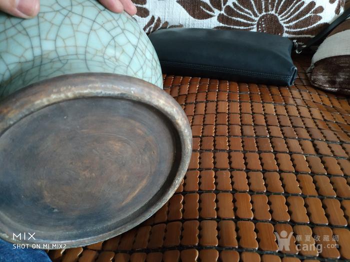 清中期哥釉琵琶尊造型瓶图8