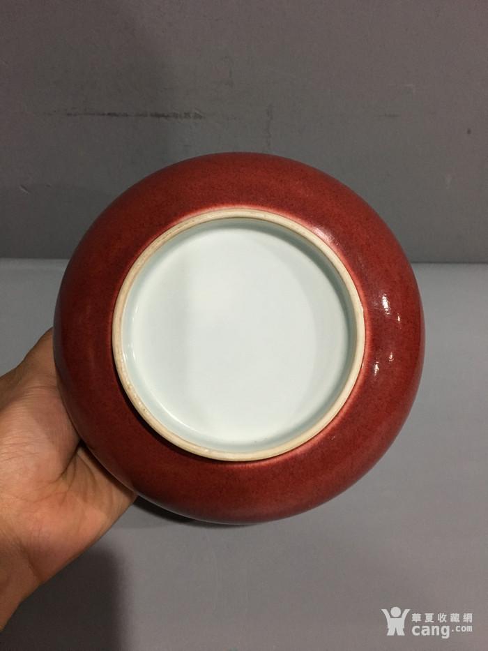 郎窑红碗 清康熙 图5