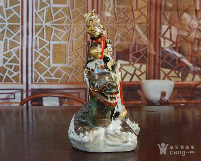 景德镇 文革瓷器 精品雕塑瓷 《西游记》图3
