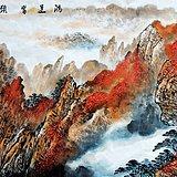 最美山水画 爱新觉罗可立老师小六尺180X70厘米