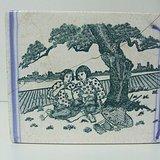 文革图画书法瓷脉枕