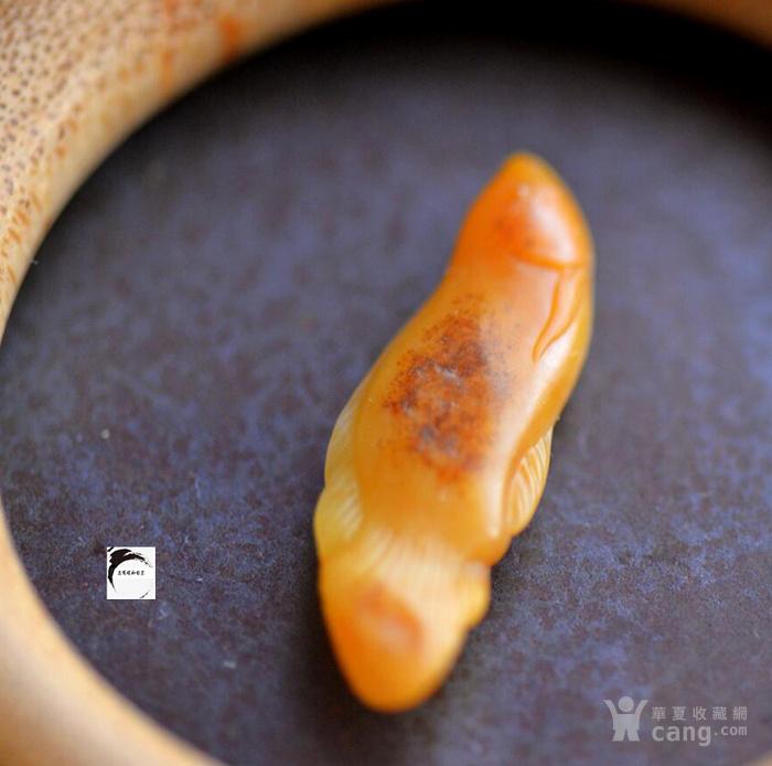 五百碗和田玉籽料原生鸡油黄沁如鱼得水玉佩新疆籽料原石图7