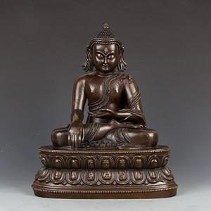 清代铜佛像一尊