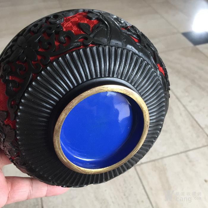剔红烧蓝碗图4