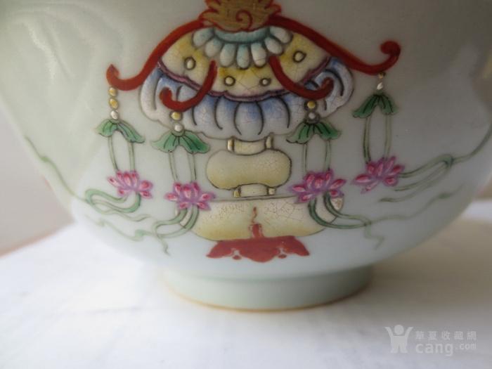粉彩青花碗图6
