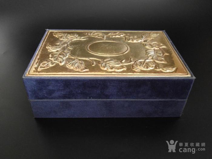 意大利手工制作纯银浮雕收纳盒图1