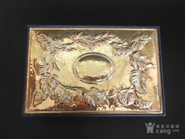 意大利手工制作纯银浮雕收纳盒图2