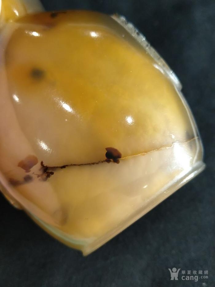 清中期 影子玛瑙铺首鼻烟壶图4