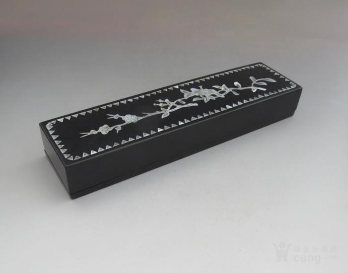 大漆镶嵌螺钿首饰盒图2