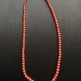 天然红珊瑚项链
