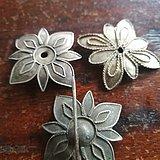 回流清朝 3个银器 花簪子 特价老玉玉器字画古玩瓷器铜器包邮