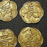 清朝 一套金器 帽花挂件 特价老玉玉器字画古玩瓷器铜器包邮