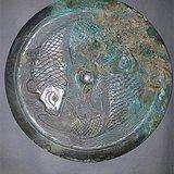 双鱼纹铜镜