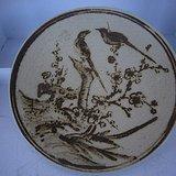 观赏瓷盘画