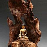 铜鎏金释迦摩尼坐像