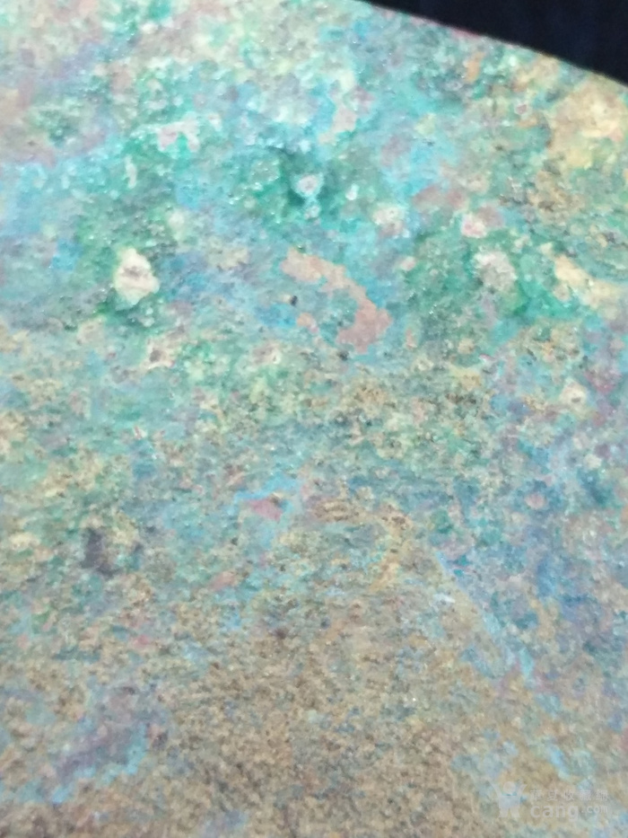 老卷云纹铜镜图8