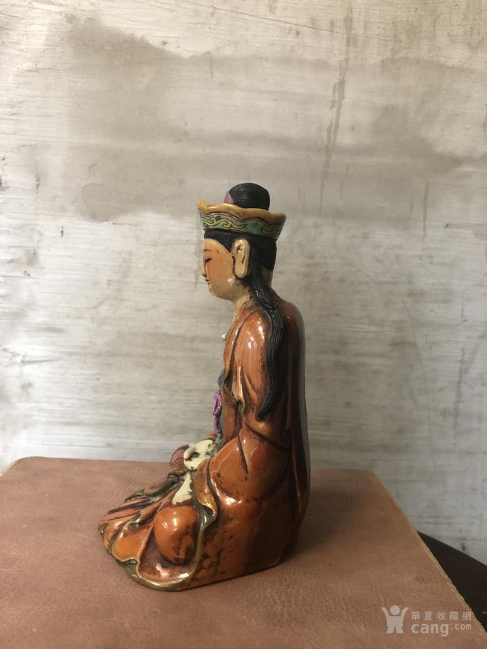 梵红粉彩雕像图3