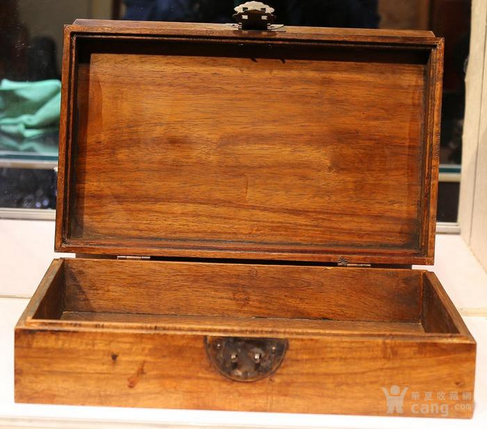 黄花梨雕福在眼前首饰盒 珠宝盒 特价包邮图7