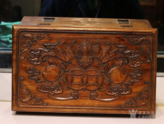 黄花梨雕福在眼前首饰盒 珠宝盒 特价包邮图9