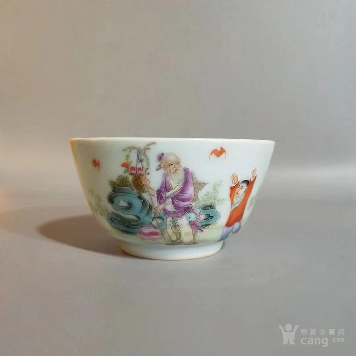 雍正时期粉彩小杯图3