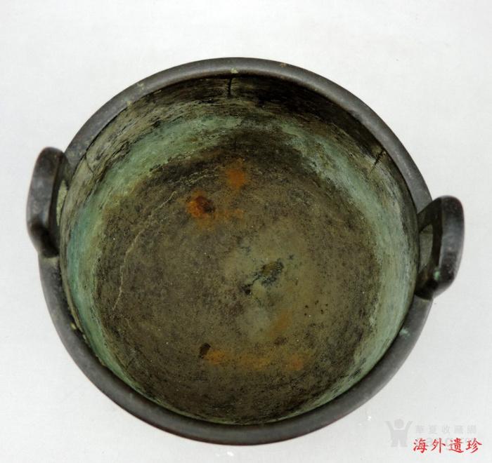 清代 瑞兽纹三足鼎式宣德铜炉图3