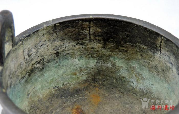 清代 瑞兽纹三足鼎式宣德铜炉图11