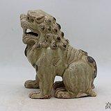 相州窑青釉狮兽