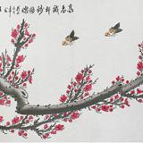 王福林梅花图