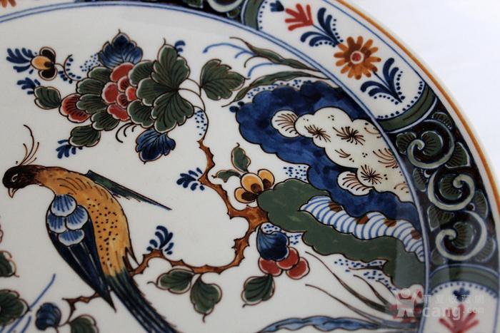 圣诞好礼 之荷兰Delft代尔夫特陶瓷彩盘 青花各一图4