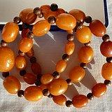 欧洲波罗的海天然老蜜蜡项链