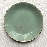 清代 豆青釉瓷盘