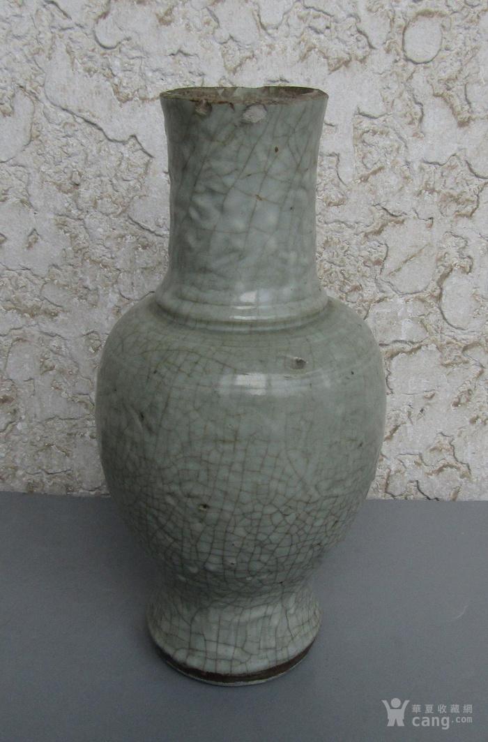 明代地方龙泉瓶图4