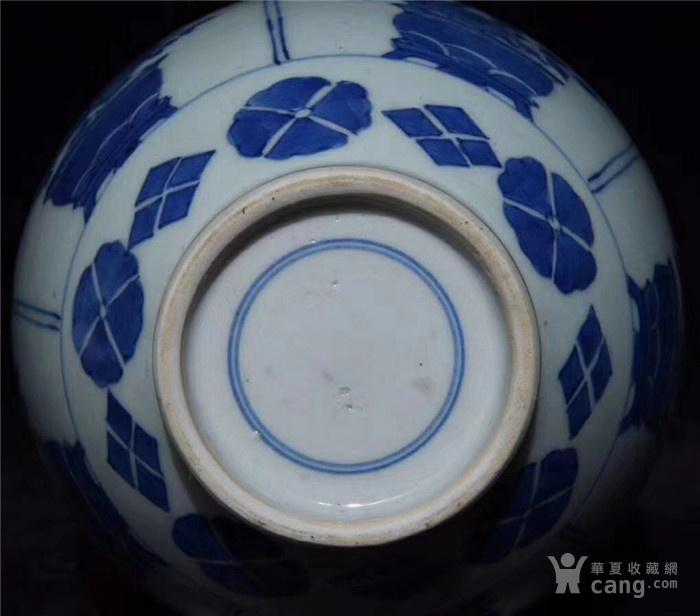 清代手绘青花人物故事将军罐,图9