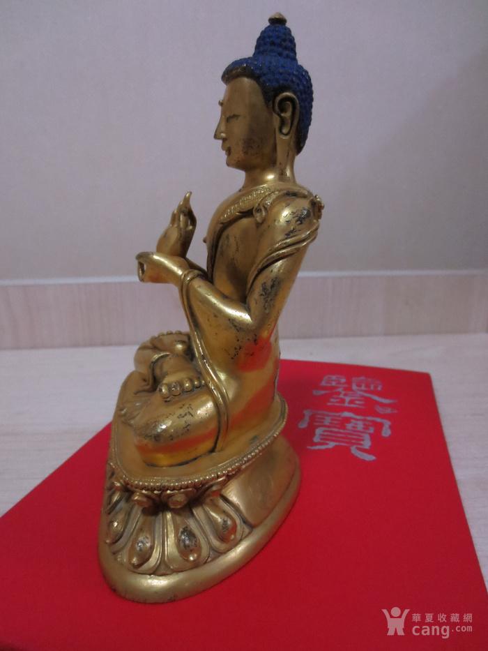 铜鎏金佛像图6