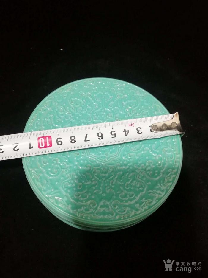 乾隆单色釉粉盒图4
