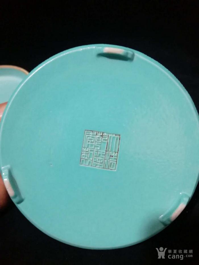 乾隆单色釉粉盒图5