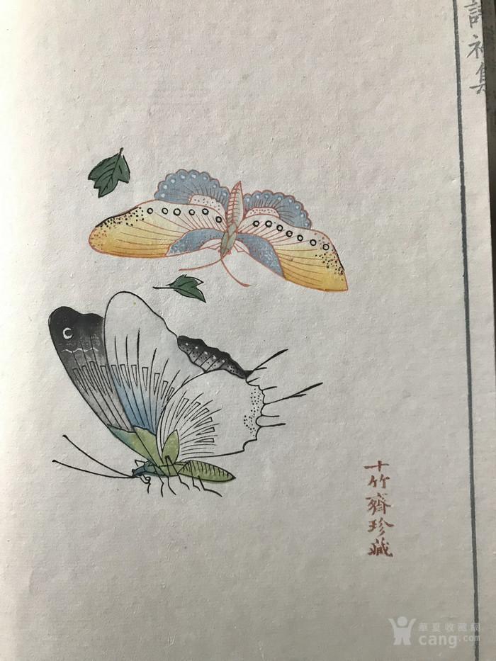 荣宝斋1952年版 十竹斋笺谱 原版原刻图9