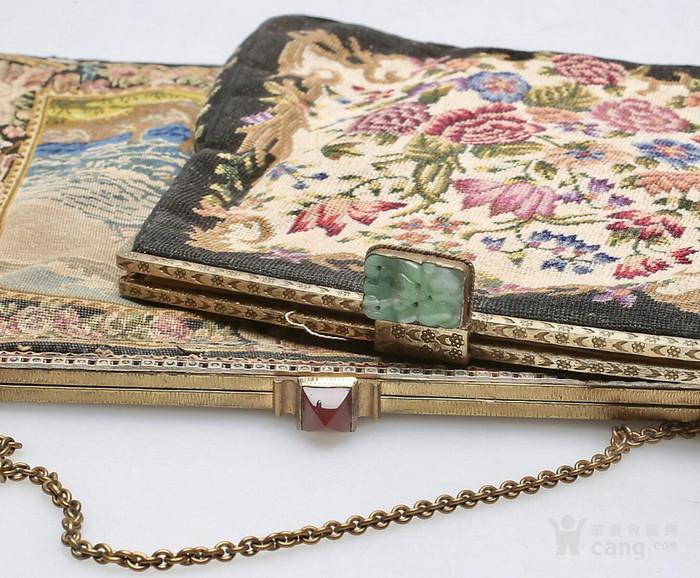 2只纳纱 古董手袋 .不议价!图1