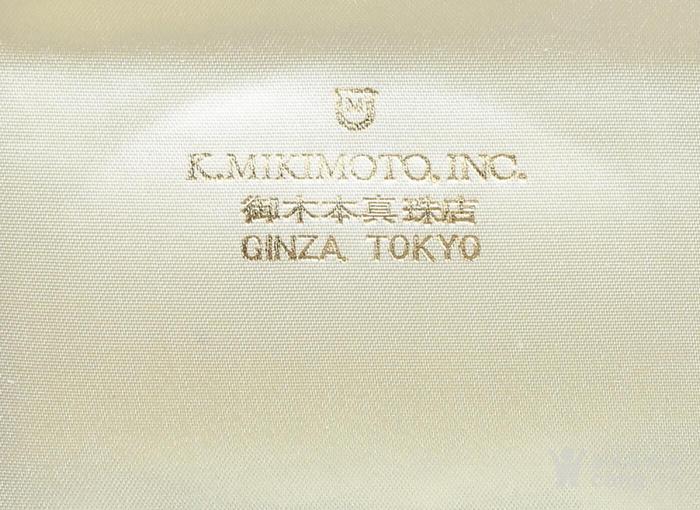 珍珠之王MIKIMOTO御本木14K金AKOYA珍珠手链。图4