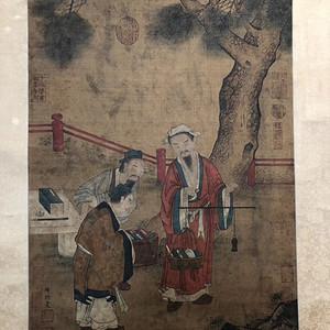 周�P 唐著名画家