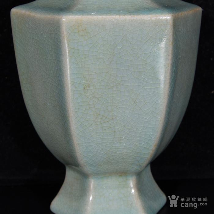汝窑六方瓶,22.5  215 12图4