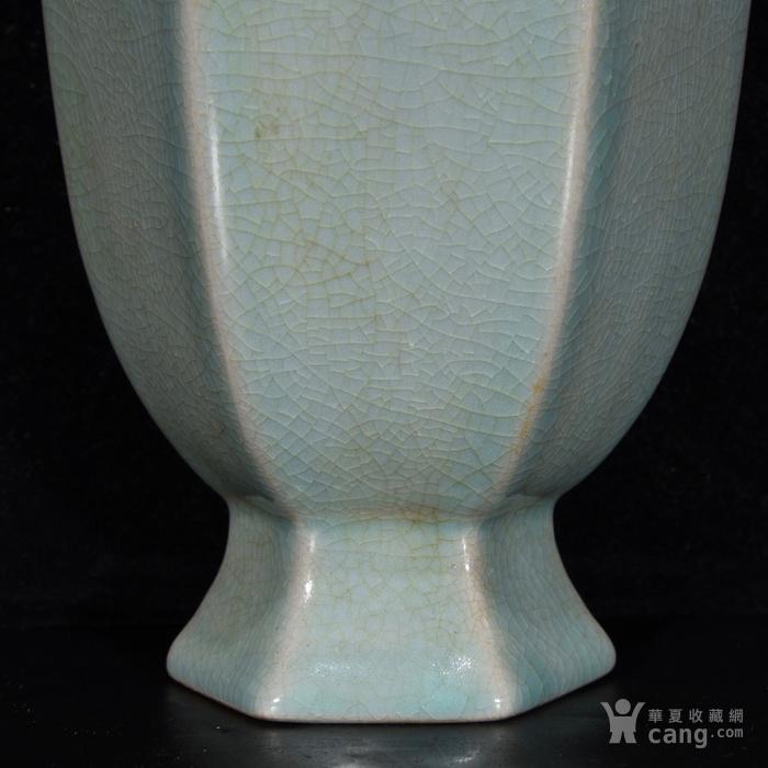汝窑六方瓶,22.5  215 12图5
