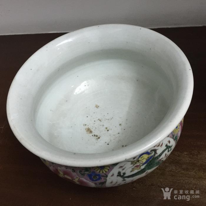 雍正粉彩大香炉图5