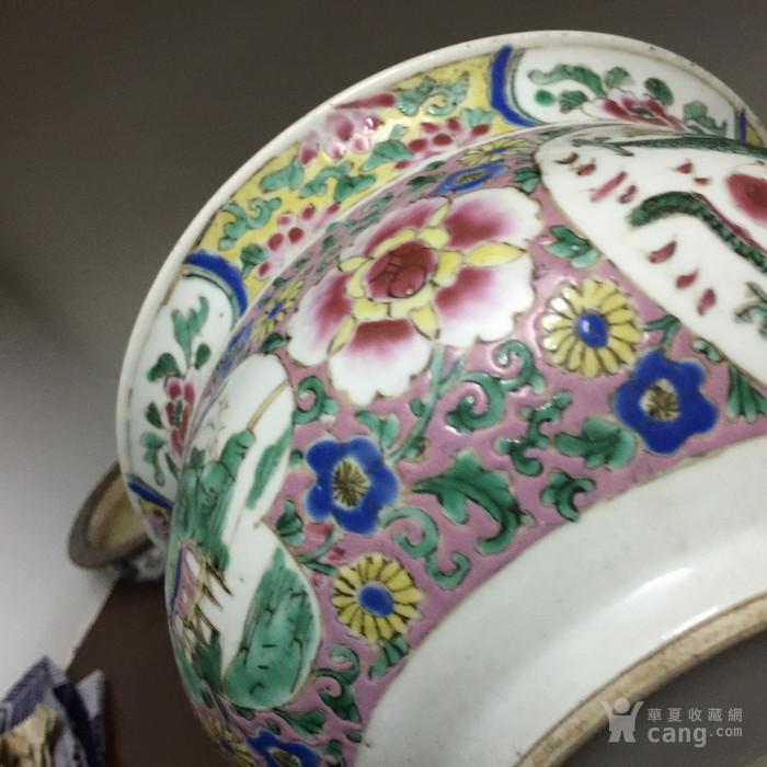 雍正粉彩大香炉图6