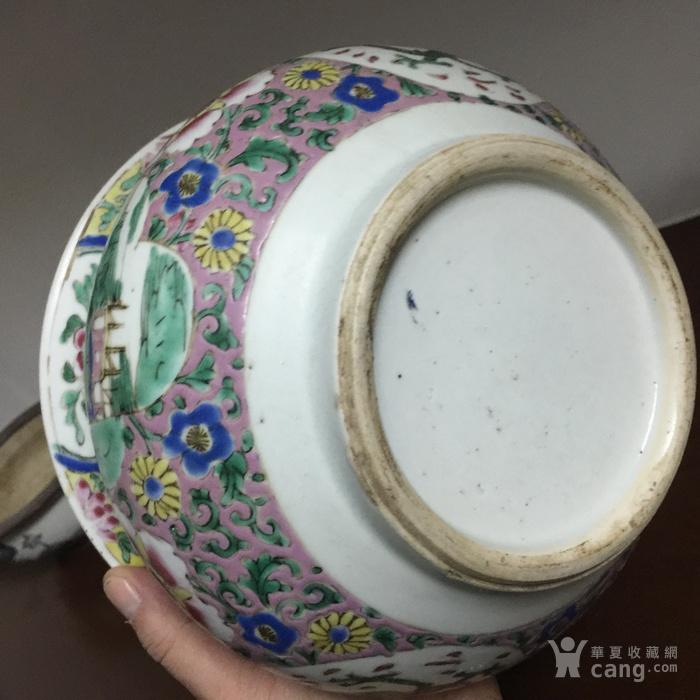 雍正粉彩大香炉图8