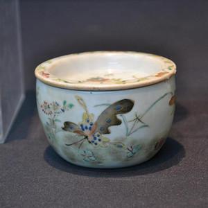 中国瓷盒碗