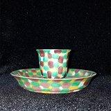 虎皮釉小茶碗
