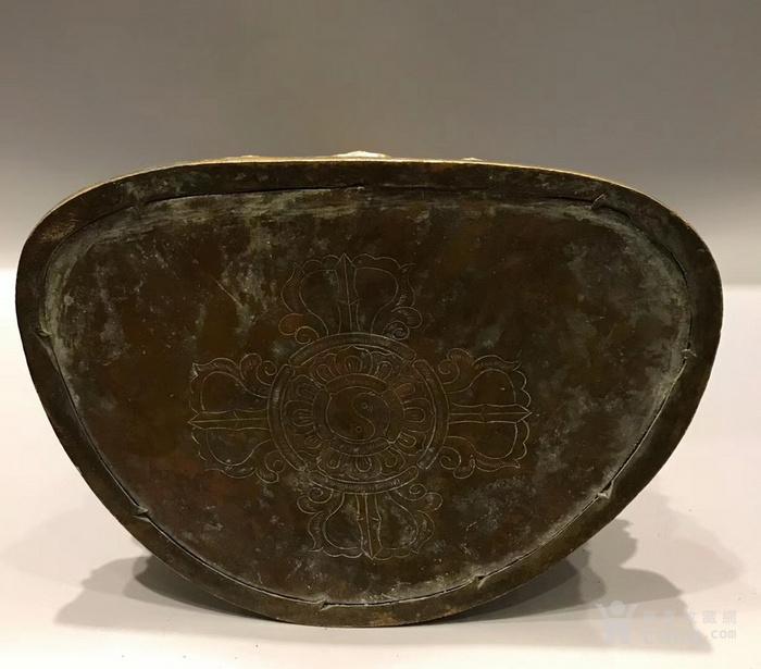 清 铜鎏金文殊菩萨 高34cm图8